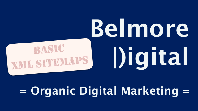 Basic SEO Guides XML Sitemaps