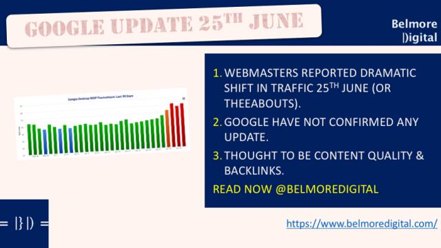 Google Update 25 June 2017