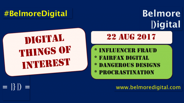 Digital Things of Interest 22 August 2017