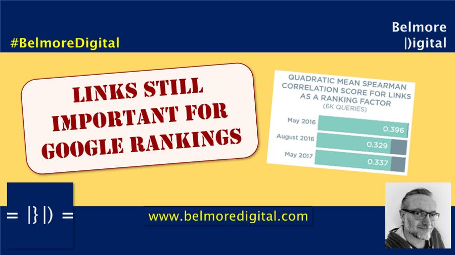 Links Still Important For Rankings