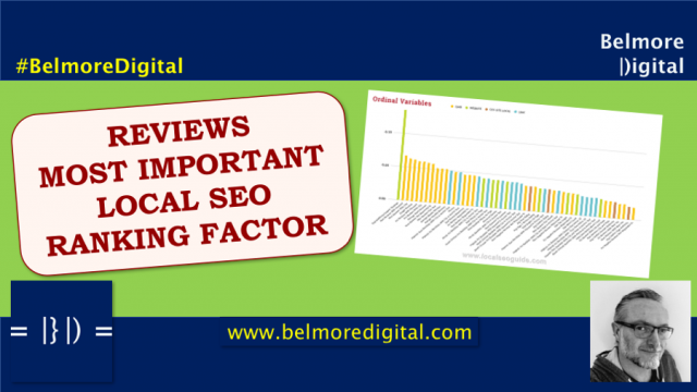 Reviews Most Important Local SEO Ranking Factors