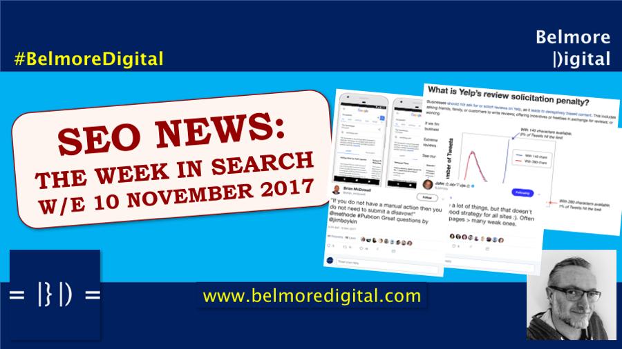 TWIS SEO News & Updates 10th November 2017