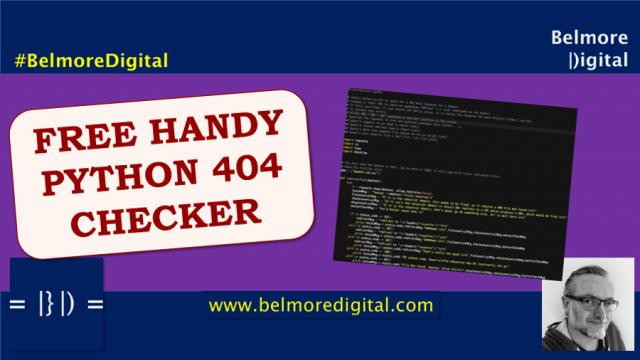 Python Simple 404 Checker