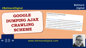Google Dumps AJAX Crawling Scheme